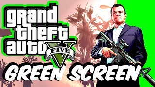 GTA 5 Green Screen MOD!! (EXCLUSIVE)
