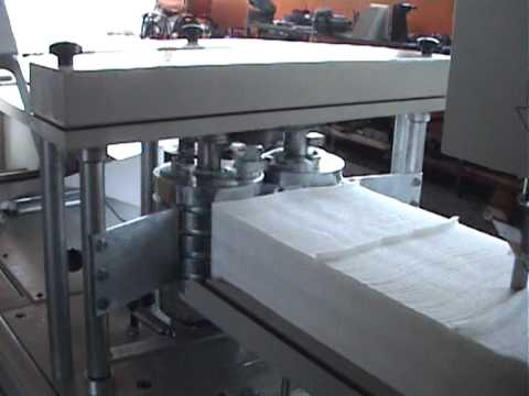 Masina za salvete, Napkin machine