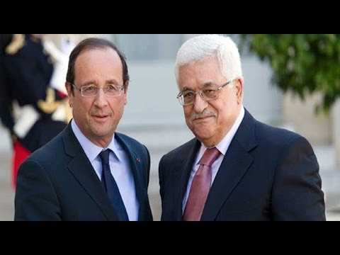 Hollande meets Abbas in Ramallah