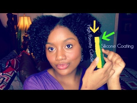 Why Silicones Are Good for High Porosity Hair     My Length Retention Secret
