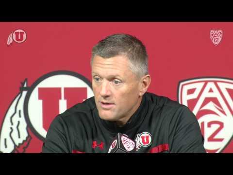 University of Utah - Utah Football Press Conference - 11/12/13