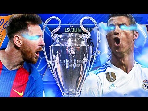 FUT DRAFT DESAFIO DA CHAMPIONS LEAGUE!!!! FUT DRAFT FIFA 18