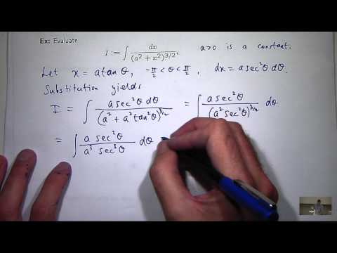 Lec5: Integration by trig substitution and partial fractions. Chris Tisdell UNSW Sydney