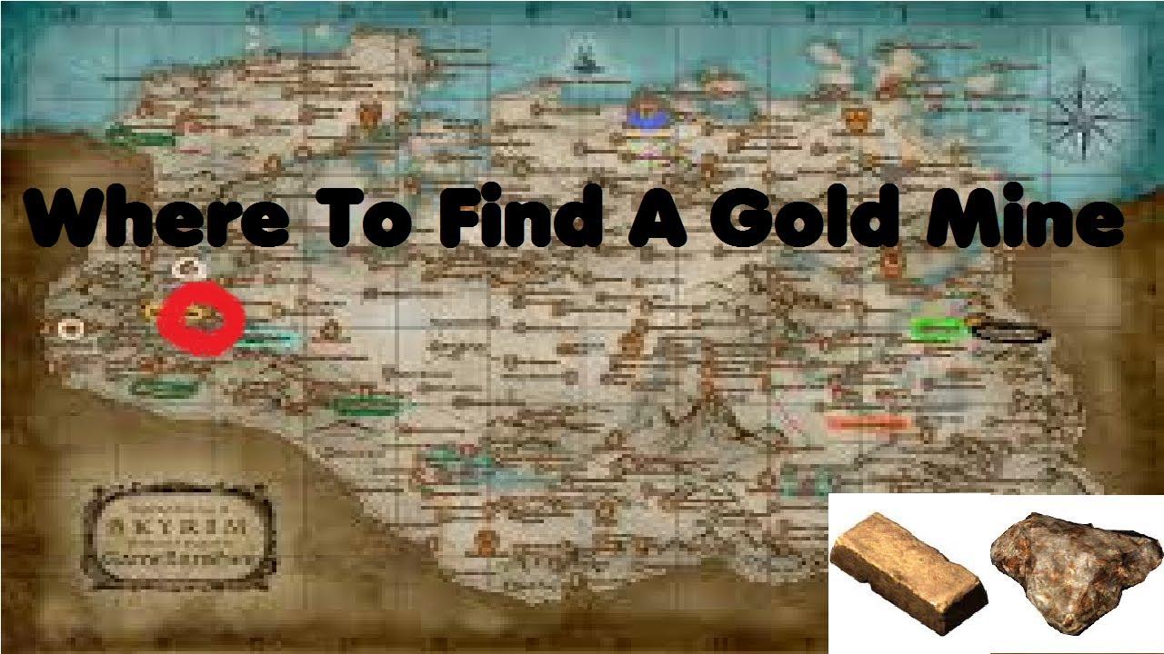 skyrim best gold mine location