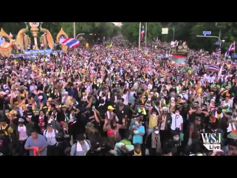 Thai Protesters Occupy Finance Ministry Compound