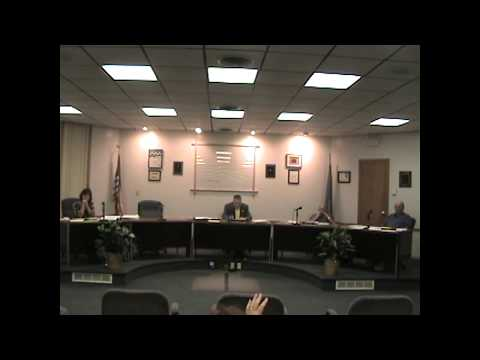 Rouses Point Village Board Meeting 9-6-11