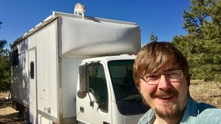 Tour of Moby, my converted box truck