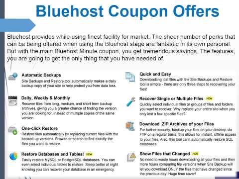 Bluehost Coupon Code 2015 With 80% Off And Get Free Domain