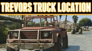 Grand Theft Auto 5 Online : How To Get Trevor's Truck