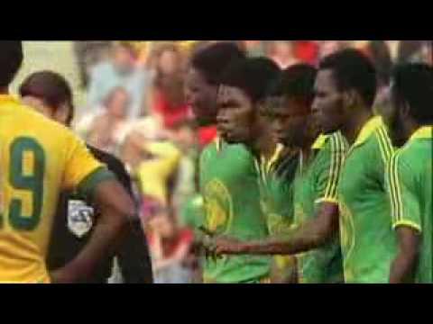 image vidéo موقف مضحك من مباراة البرازيل و زائير عام 1974