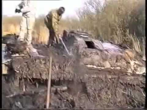 STuG III pulled from a Bog
