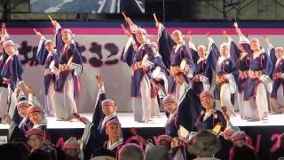 第13回(2013年)坂戸よさこい【ステージ会場】上總組