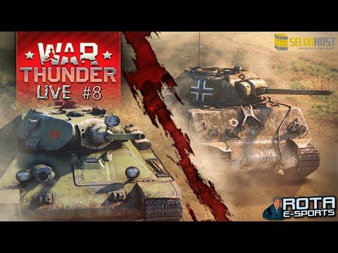 LIVE - War Thunder Tanks #8