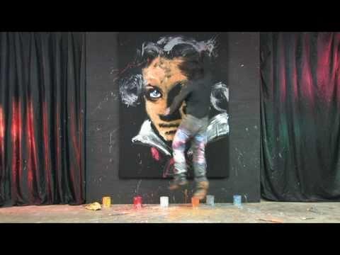 Nejrychlejší malíř na světě! :-O