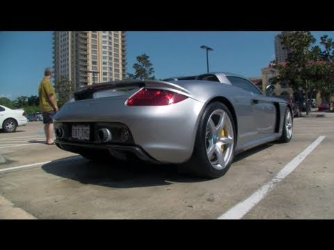 Carrera GT - Incredible Engine Sound