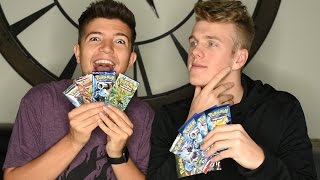 "OPENING ""SUPER RARE"" POKEMON CARDS (w/ Preston)"