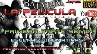 Batman Arkham City Pelicula Completa Español