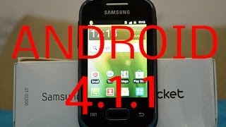 ANDROID 4.1.1 IN GALAXY POCKET