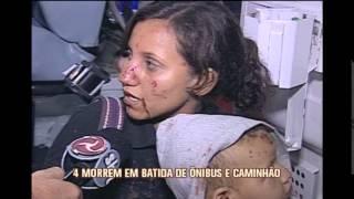 Acidente deixa 4 mortos e 17 feridos na BR-365, em Montes Claros