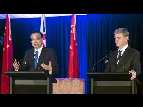 China, New Zealand agree to upgrade FTA
