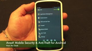 Avast! Mobile Security & Anti-Theft For Android Phones