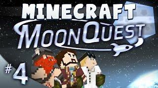 Minecraft Galacticraft - MoonQuest Episode 4 - Rocket Bumholes