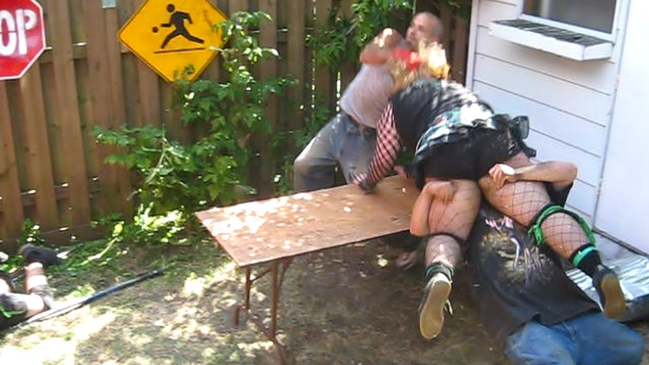 vs team ftw chw tag team championship backyard wrestling