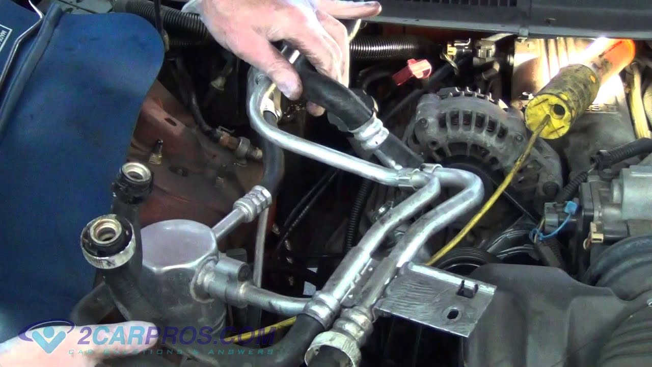Heater Hose Replacement 1993 2002 Chevrolet Camaro Youtube
