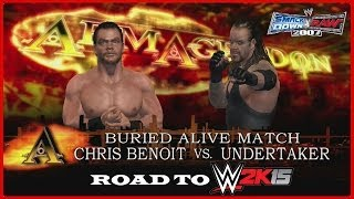 Road To WWE 2K15 (Episode 1): Chris Benoit Vs. Undertaker