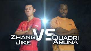Review all the highlights from the ARUNA Quadri vs ZHANG Jike Quarter Final first stage table tennis match at the 2014 Men&#39;s...</div><div class=