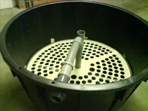Filtration bassin ko ko pond filter diy youtube for Bog filter design