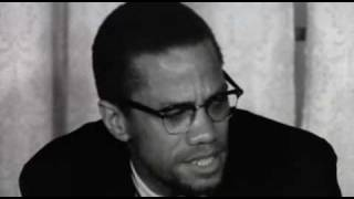 Malcolm X after return from Mecca.