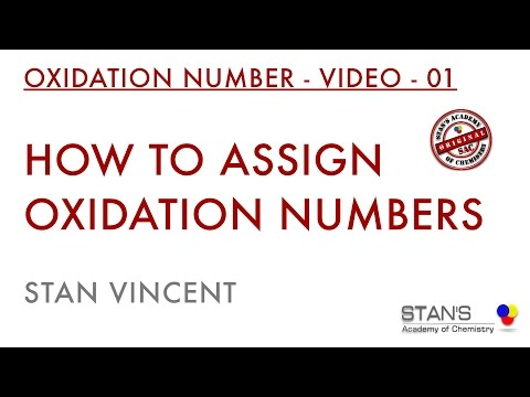 How to assign oxidation numbers | Redox Reactions