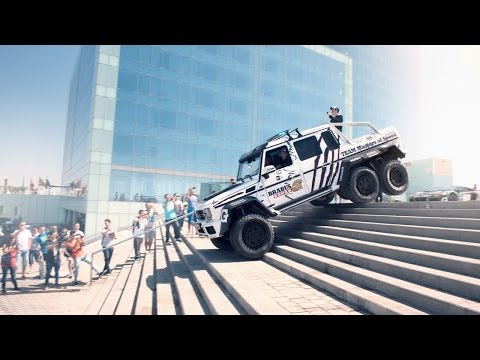 Brabus Mercedes G63 AMG 6x6 700 in the 2014 Gumball 3000 - Team Betsafe