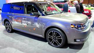 2013 Ford Flex Limited Exterior and Interior at 2012 Toronto Auto Show videos
