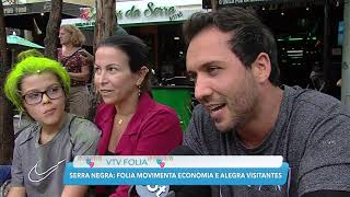 SBT VTV - Serra Negra - Carnaval movimenta economia e alegra visitantes