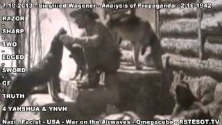 Analysis of Propaganda   2 16 1942   Siegfried Wagener