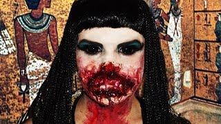 Zombie Cleopatra Makeup Tutorial!