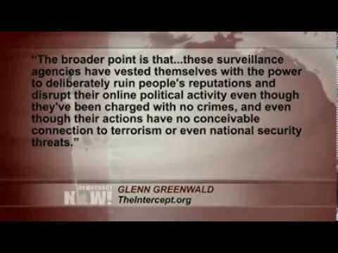 Glenn Greenwald: NSA Agents Conduct Internet 'False Flag' Operations