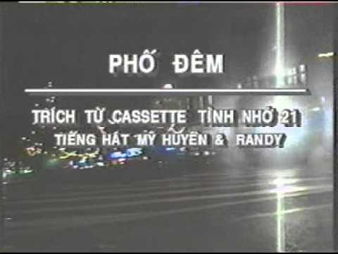 [karaoke] Phố Đêm - Randy & Mỹ Huyền