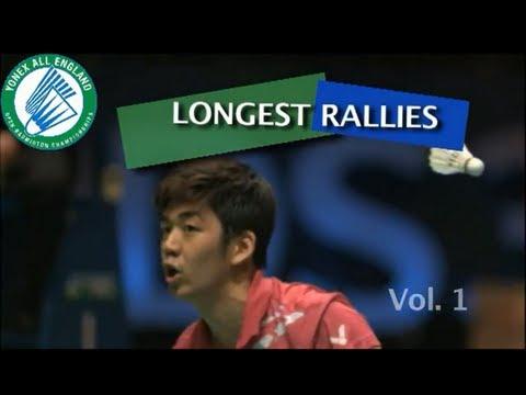 Unbelievable badminton rallies at All England Open