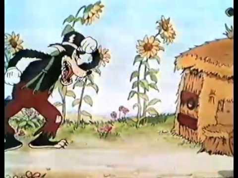 Walt disney les trois petits cochons fr une vid o cin youtube - Dessin anime les 3 petit cochons ...