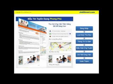 JobStreet.com Việt Nam - Hướng Dẫn - Cách Đăng Tin Tuyển Dụng cùng JobStreet.com Việt Nam