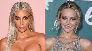 Kim Kardashian REACTS To Jennifer Lawrence Fangirling Over Her