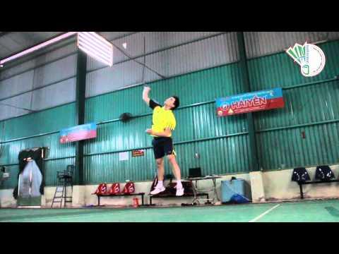 Ky Thuat Cau Long Co Ban VNBadminton Dap Cau 2 Hoang Hai Phuong Nam