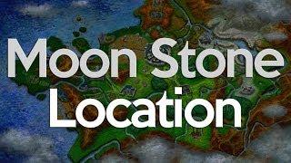 Pokemon X And Y Moon Stone Location (two Stones)