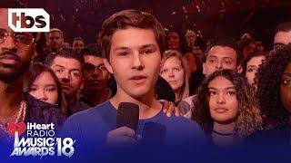 Big Sean & Parkland High School Shooting Survivor Alex Moscou: 2018 iHeartRadio Music Awards   TBS