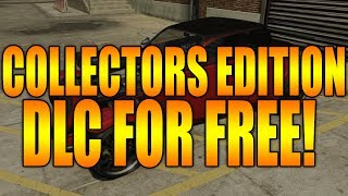 GTA 5 ONLINE: HOW TO DOWNLOAD THE COLLECTORS EDITION DLC FOR FREE! (HOTKNIFE KHAMELION + MORE) GTA V