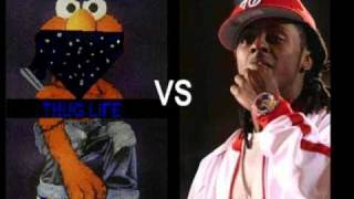 Elmo Vs Lil Wayne