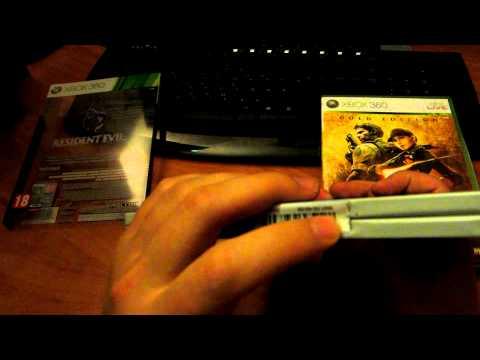 Unbox Resident Evil 6. Специальное издание xbox 360 от Gerki